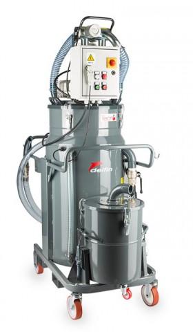 Olio e Trucioli TECNOIL 200IF T per la pulizia di torni e frese