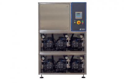 Impianto di lavaggio ad acqua fredda BOX LC-HT 140/126 6×6