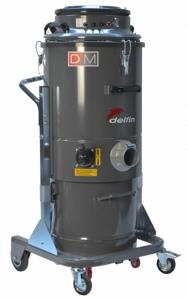 Aspiratore industriale DM3 EL 100 tre motori professionale